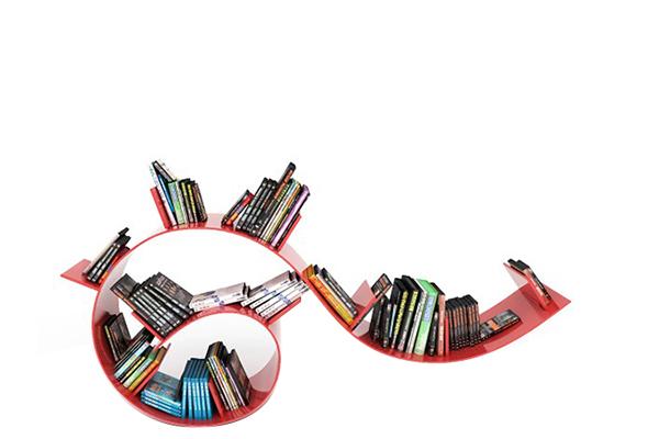 Prateleira Bookworm